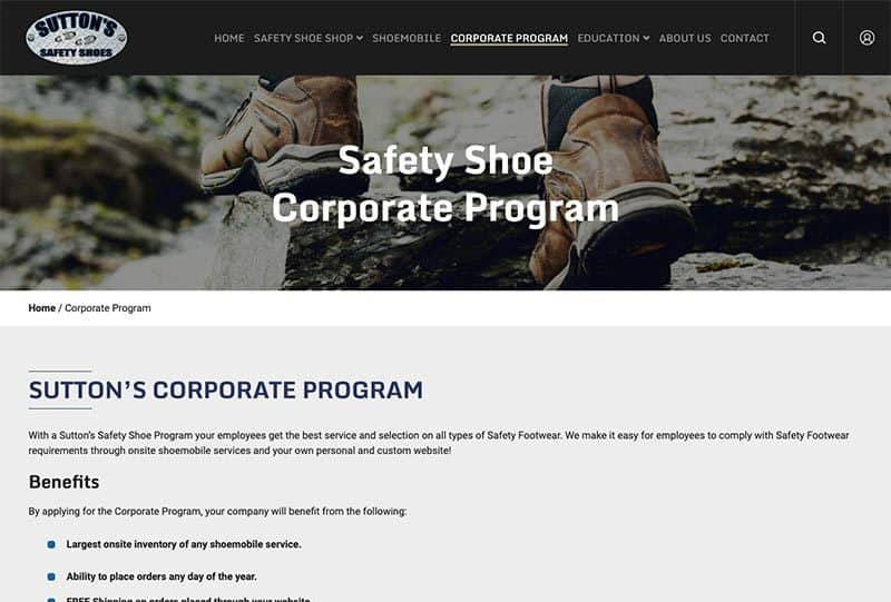 Marketing and SEO for a Retail Shoe Business