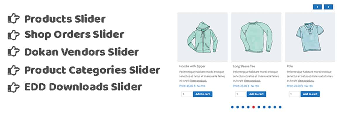 TheeCommerce Pick Plugin Slider