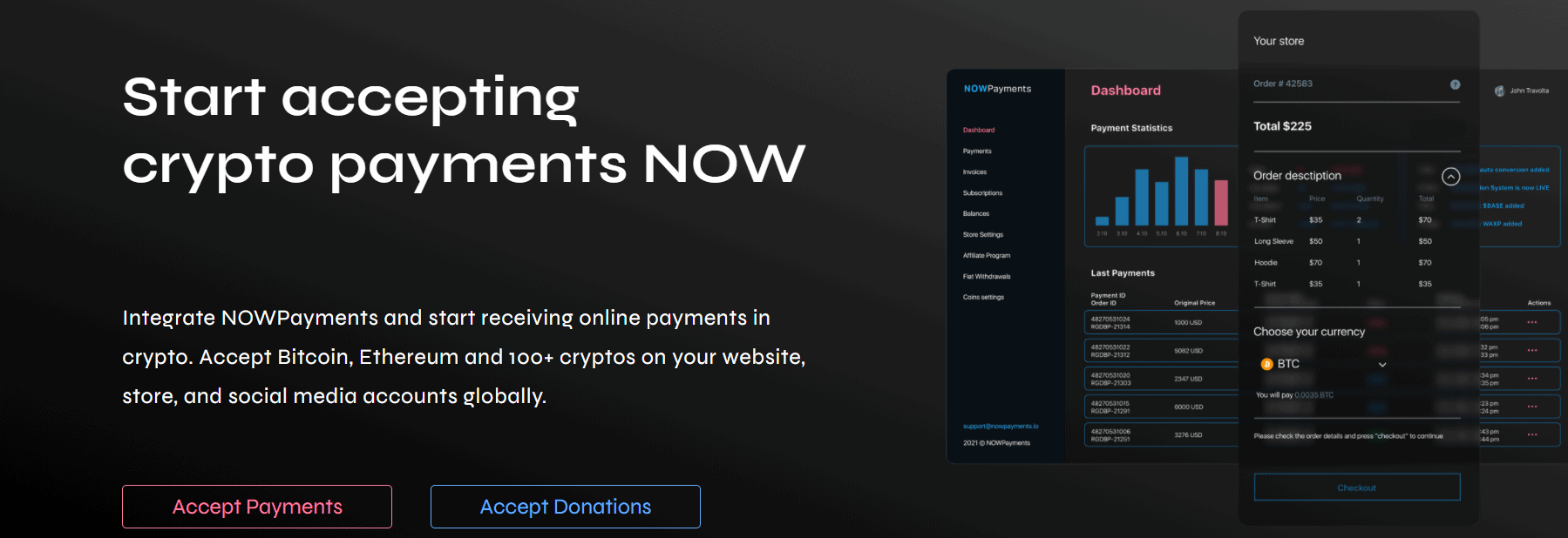 NOWPayments WooCommerce TheeCommerce
